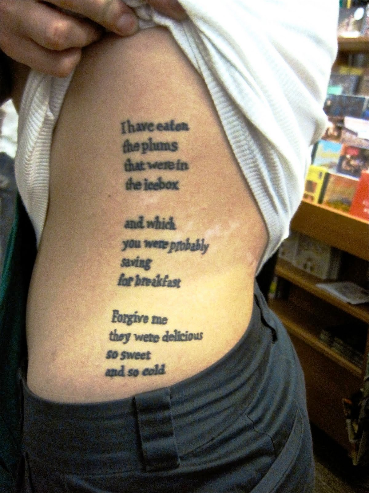 Music quotes tattoos