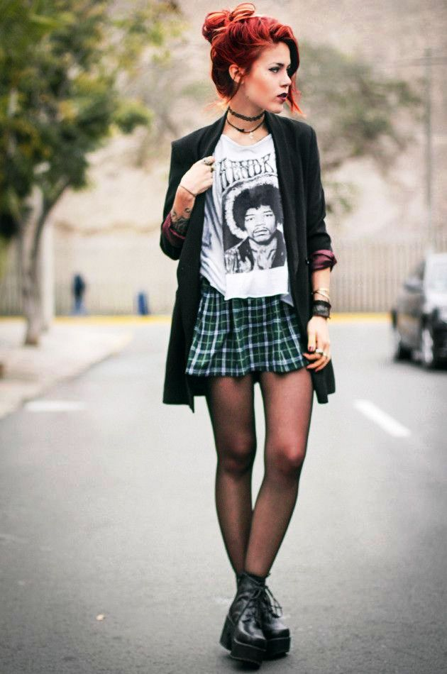 ideas for grunge fashion