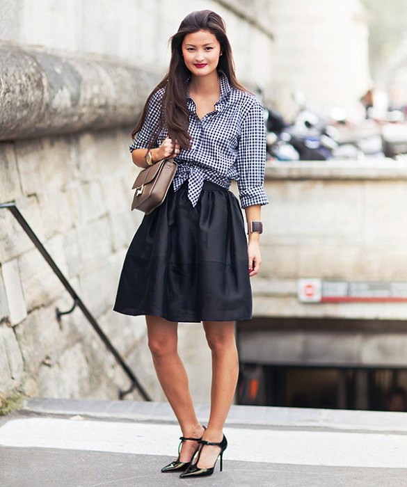 preppy outfit ideas street style