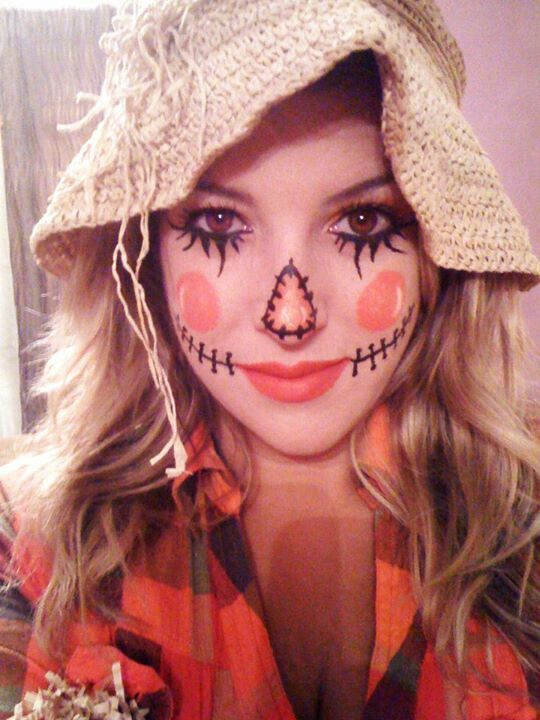 beautiful last minute hallowen makeup ideas
