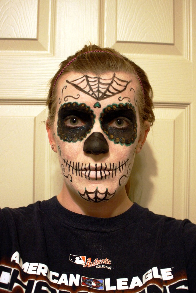 Guy halloween makeup