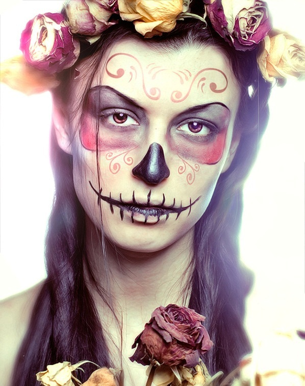 30 Awesome Halloween Makeup Ideas For Women - Flawssy
