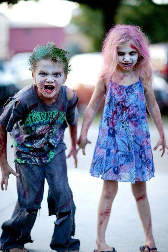 Halloween Costumes for Kids Zombie Makeup