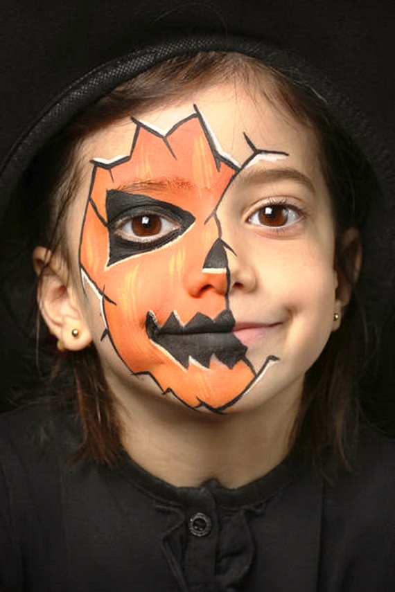 Scary Halloween Makeup Ideas For kid