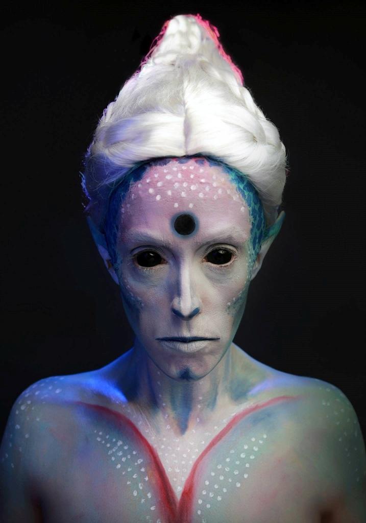 alien makeup for this halloween