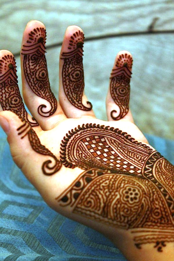 Bridal Mehndi Designs.
