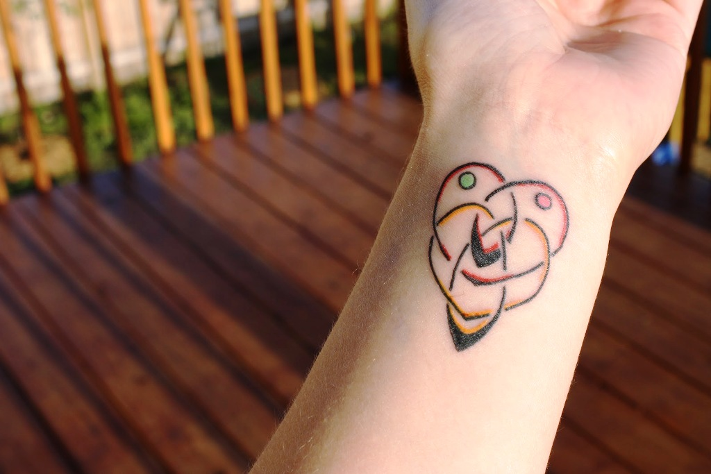 Celtic Motherhood Symbol Tattoo