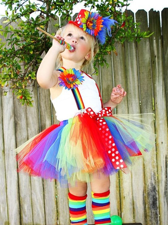 Clown Tutu Halloween Costume
