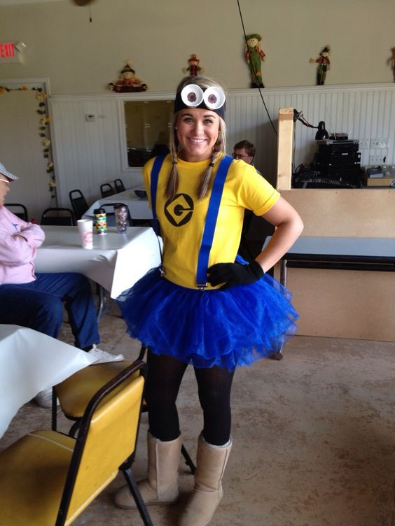 DIY Minion costume!!