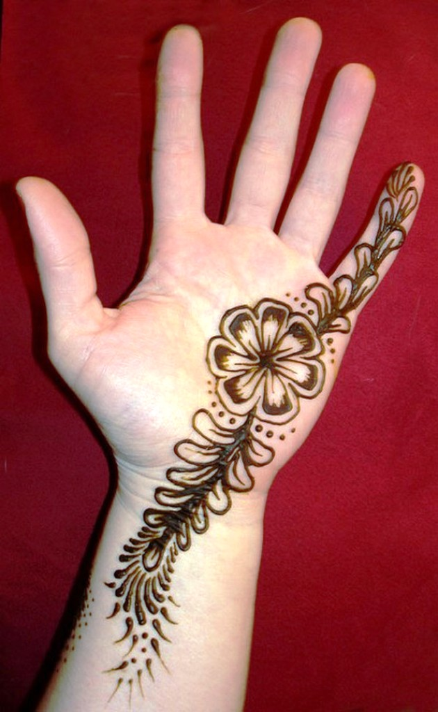Easy Simple Henna Designs for Hands.......