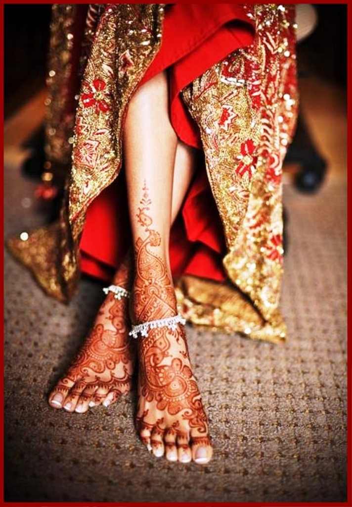 Indian Bridal Mehndi Designs