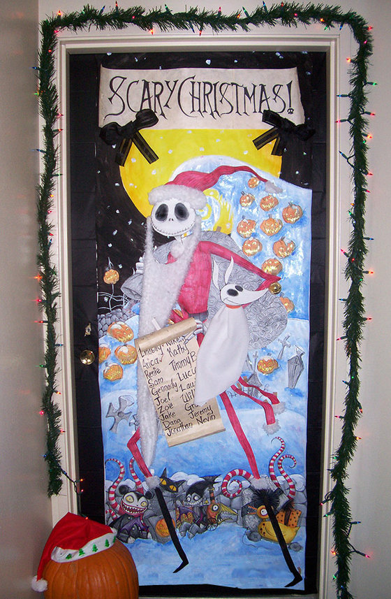 nightmare-before-christmas-door-decorations