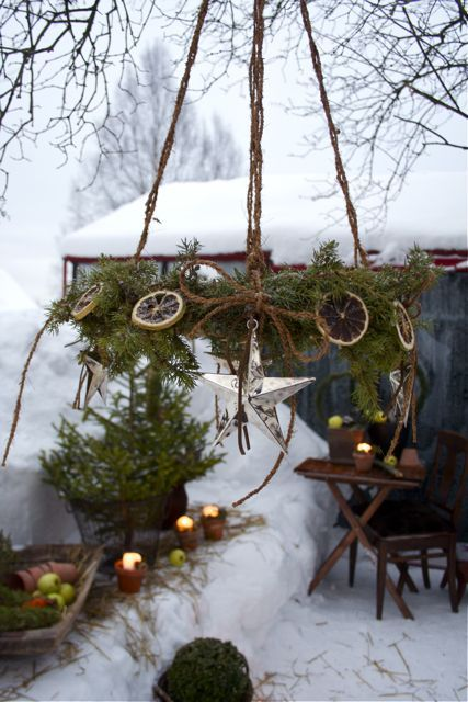 rustic-outdoor-country-christmas-decorations