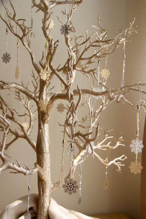 snowflake-gold-silver-christmas-tree-ornaments