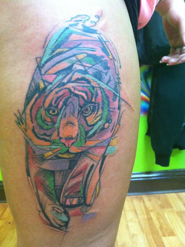 abstract-tiger-tattoo