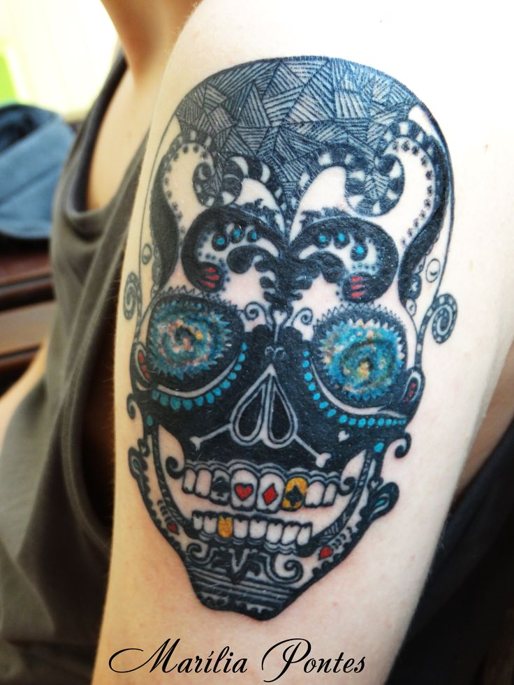 geometric-skull-tattoo-designs-new