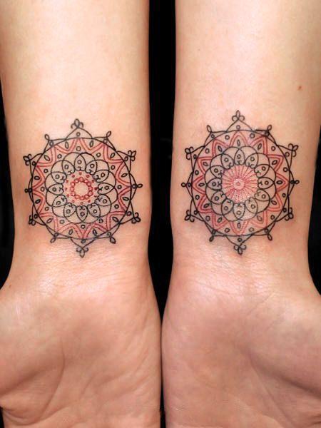 geometric-sun-tattoo