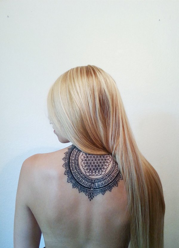 mandala-neck-tattoo-designs