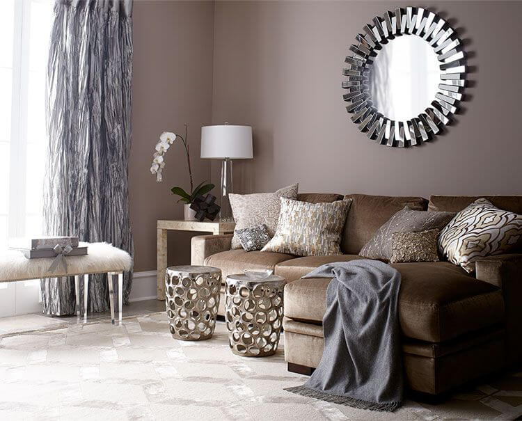 30 Brown Living Room Ideas to Inspire You (1)