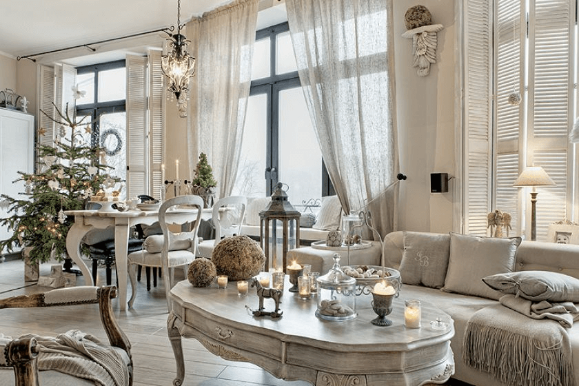 The charming shabby lounge (1)