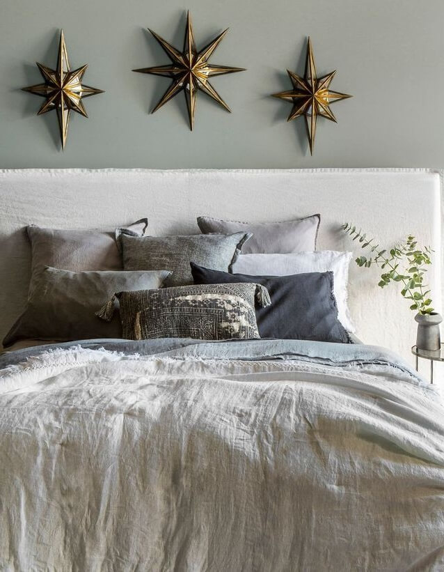 Bed linen is enhanced by a sober palette (1)